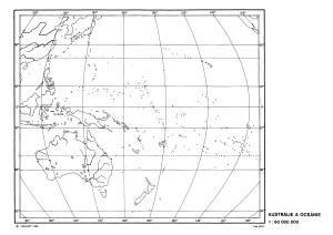 obrysova mapa australie-a-oceanie